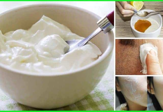 benefits of yogurt for skin and hairs