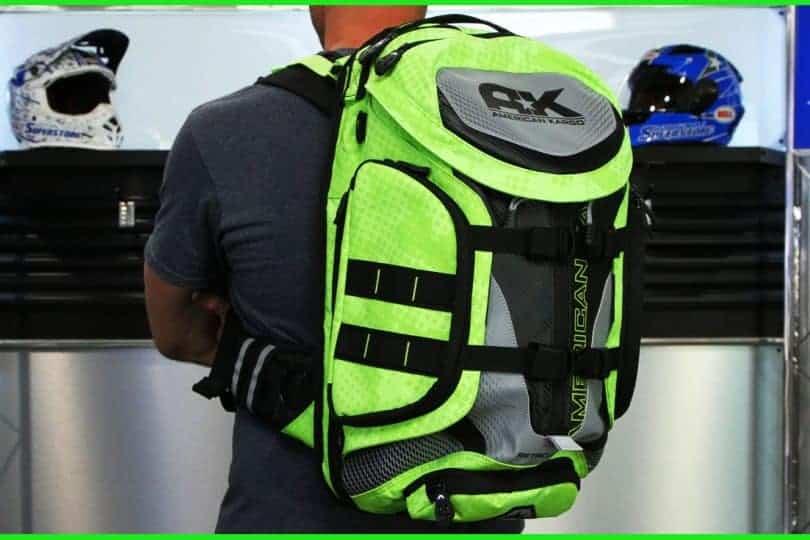 motorcycle backpack black Friday
