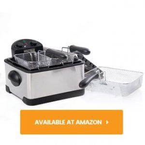 Secura Triple Basket Electric Deep Fryer review