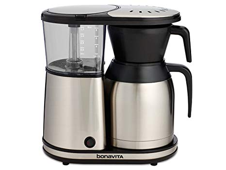 Bovavita BV1900TS 8 Cup One Touch Coffee Maker