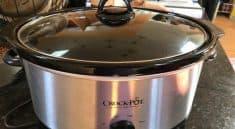 Crock-Pot SCV700SS 7-Quart Oval Manual Slow Cooker