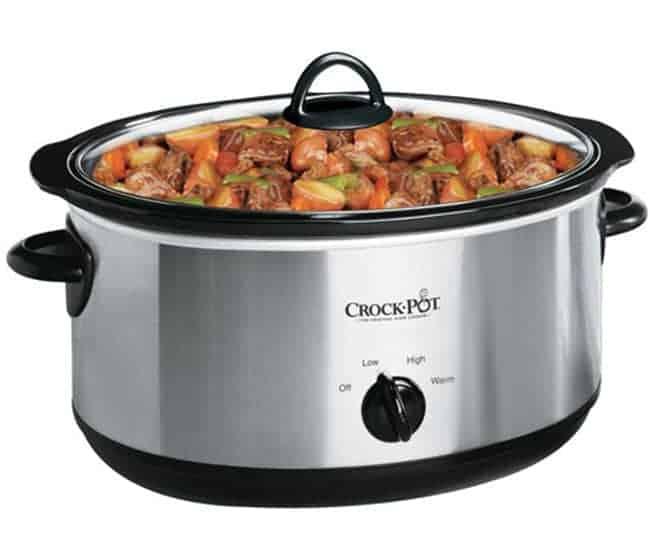 Crock-Pot SCV700SS 7 Quart Oval Manual Slow Cooker