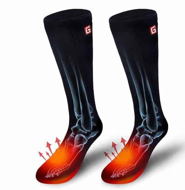 AutoCastle Electric Battery Heated Socks