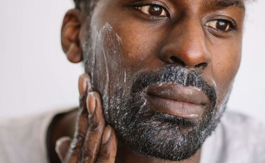 wash your beard or mustache